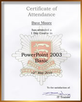 Power Point Presentation Course