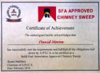 SFA Approved - Certificate of Achievement