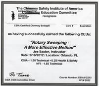 The Chimney Safety institute of America