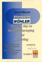 Wohler Training on Chimney Surveying and Reporting
